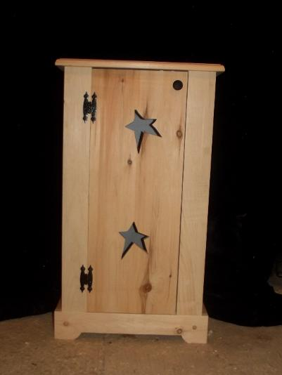 Good Rustic Jelly Cupboard With Stars U0026 Plain Jelly Cupboard